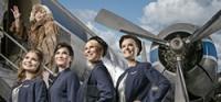 Фотоэкспозиция униформы компании Finnair