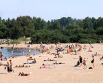 Пляж в Хиетаниеми (Hietaniemi)