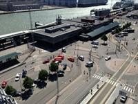 В Западном порту Хельсинки началось возведение нового терминала