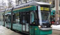 О передвижении трамвая сообщит интернет