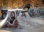 Скейт-парк Suvilahden Skeittiparkki в Kalasatama