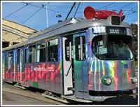 Трамвай науки курсирует по Хельсинки