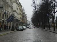 В Хельсинки началась уборка дорог от пыли