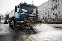 В Хельсинки эффективно борются с пылью
